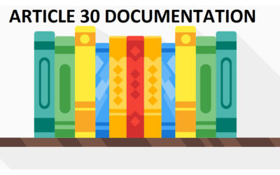 Article 30 Documentation