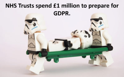 NHS Trusts spend £1 million to prepare for GDPR